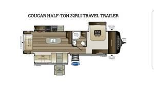 2017 Keystone Cougar X-Lite 30RLI