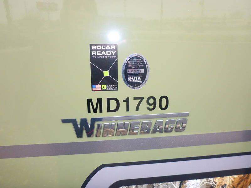 2018 Winnebago Minnie Drop 1790