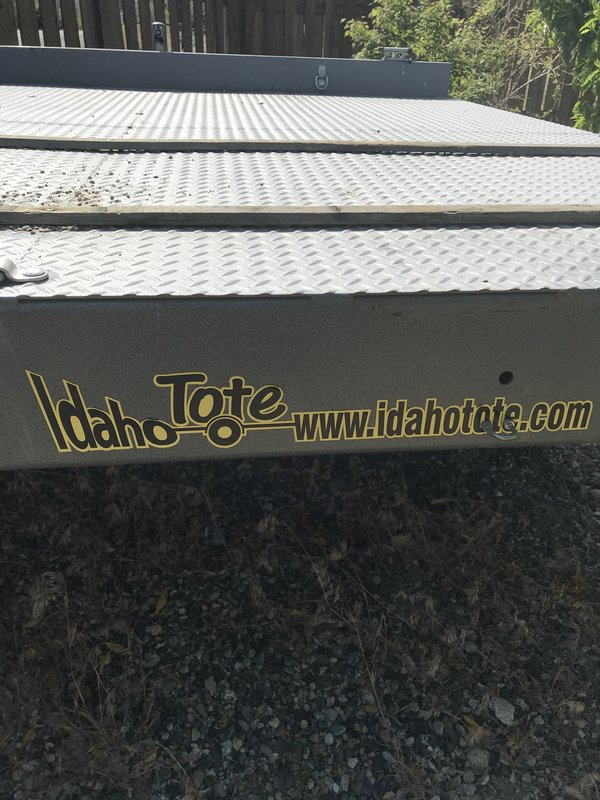 2016 IDAHO TOTE Idaho Tote 8FT