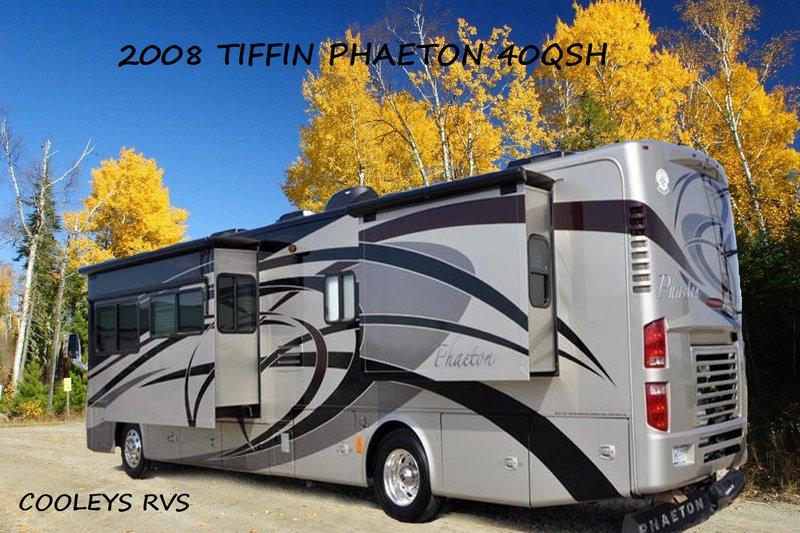 2008 Tiffin Phaeton 40QSH