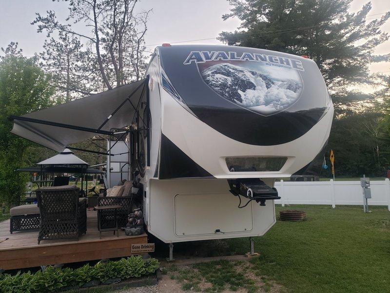 2014 Keystone Avalanche 341TG