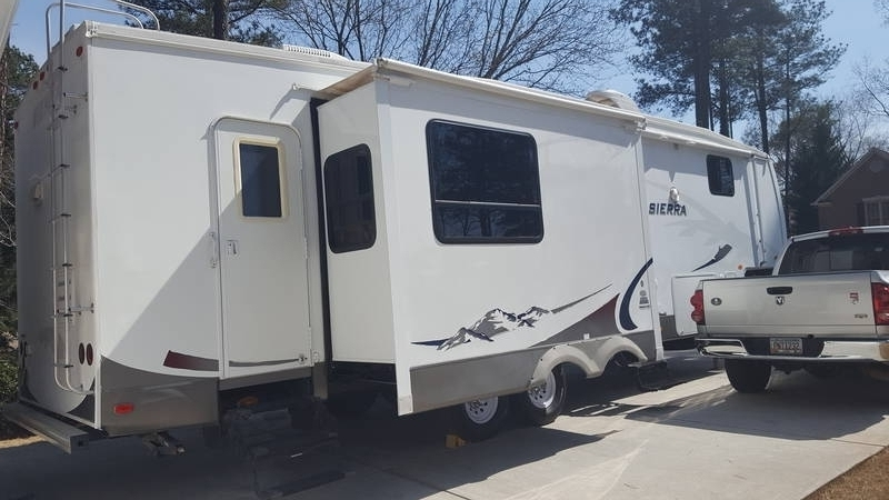 2008 Forest River Sierra 325rgt 5th Wheels Rv For Sale By