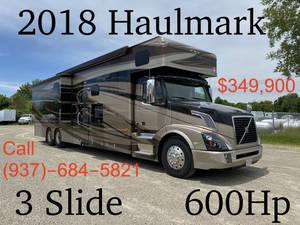 2018 Haulmark  Bunk Bed