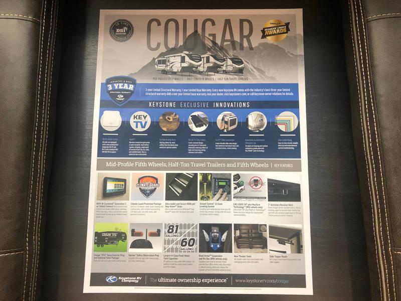 2021 Keystone Cougar 34TSB