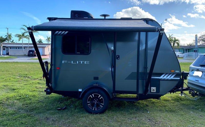 2018 Travel Lite Falcon F-Lite 14, Travel Trailers RV For ...