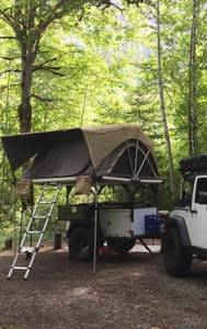 2019 Free Spirit Recreation Overland (Off Road) Trailer Overland