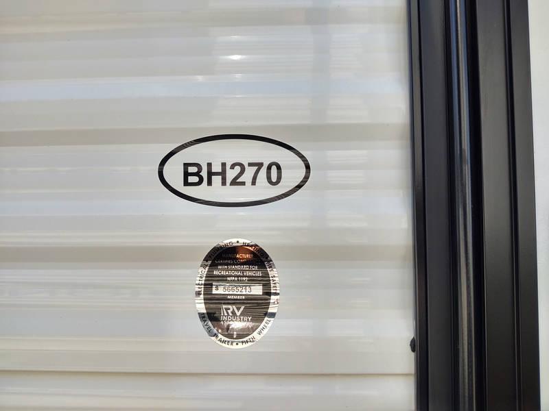 2021 Heartland Pioneer BH270