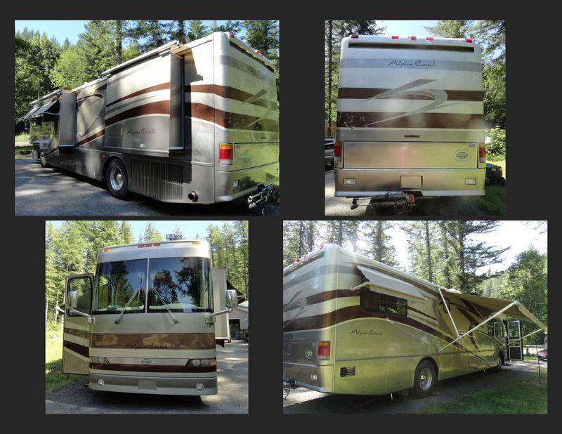2001 Western RV Alpine Coach 38FDDS
