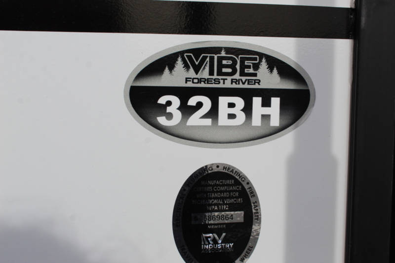 2021 Forest River Vibe 32BH
