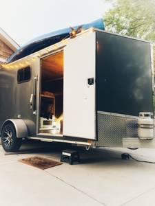 2017 H&H Tailers HH Series Flat Top Cargo Custom Built
