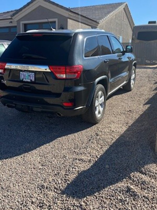 2012 Jeep Grand Cherokee Laredo Sport Utility 4D