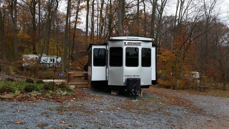 2016 Forest River Wildwood Lodge 4092blf