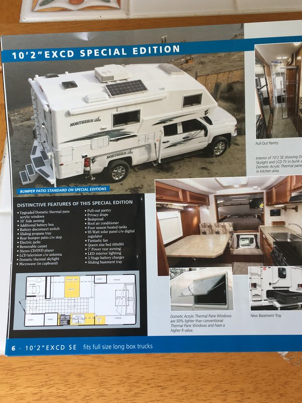 2018 Northern Lite Special Edition 10.2 EXCD SE