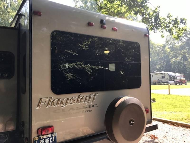 2014 Forest River Flagstaff Classic Super Lite 8528IKWS