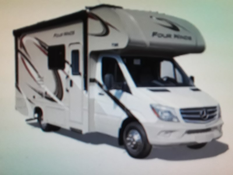 2017 Thor Motor Coach Four Winds Sprinter 24FS