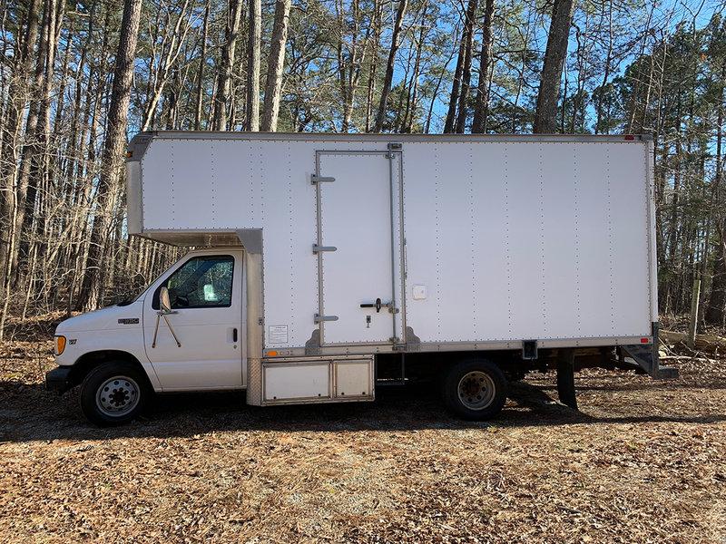 2002 Ford Superior Box Truck Conversion to RV E350
