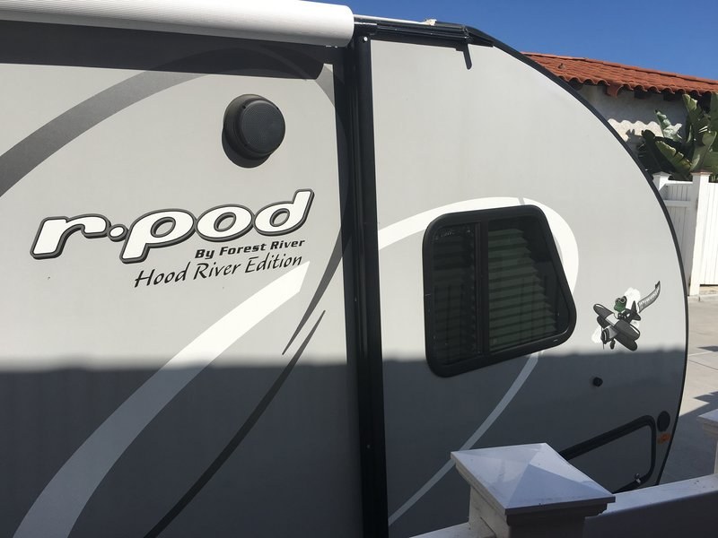 2020 Forest River R-Pod 195 10th anniversary .........Hood River Edition