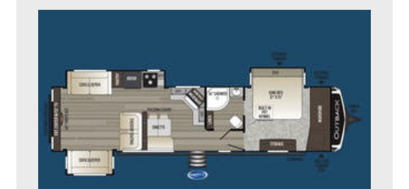 2020 Keystone Outback 341RD