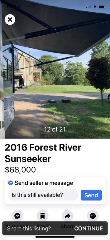 2016 Forest River Sunseeker 3170DS