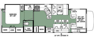2021 Forest River Forester 3051SF