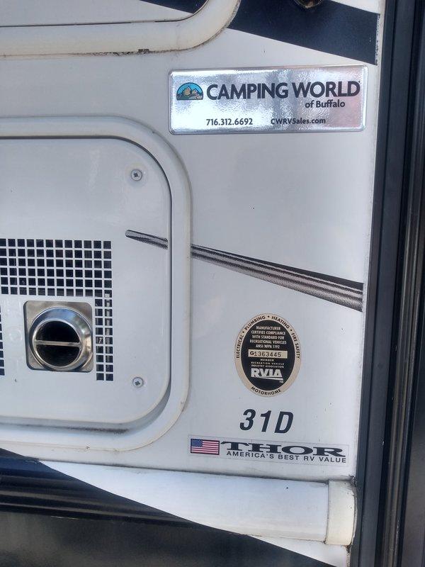 2011 Thor Motor Coach Windsport 31D