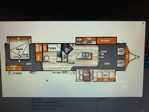 2017 Forest River Salem Villa Estate SMT393FLT