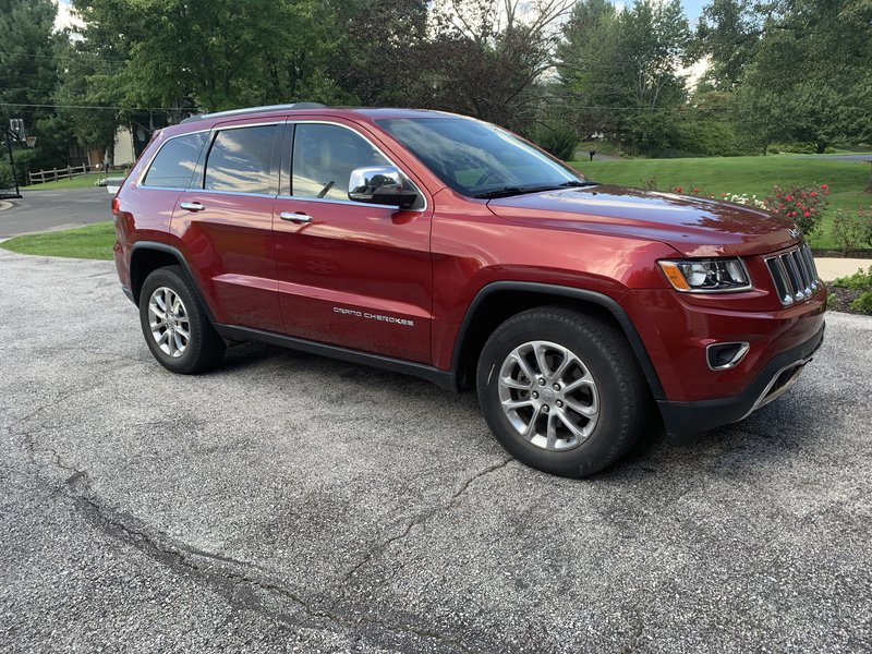 2014 Jeep Grand Cherokee  with Tow Equipment Limited 4DR 4WD 3.6 ltr 6 cylinder